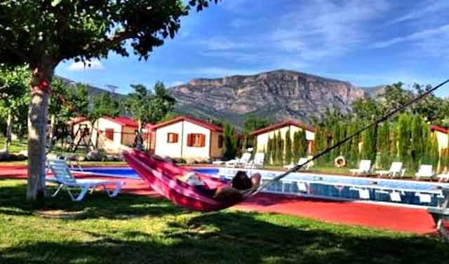 Camping Isábena, La Puebla de Roda, Huesca