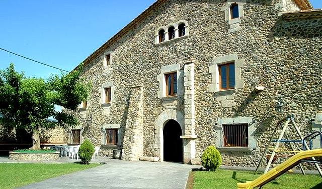 Mas La Casassa; en Sant Gregori, Girona.