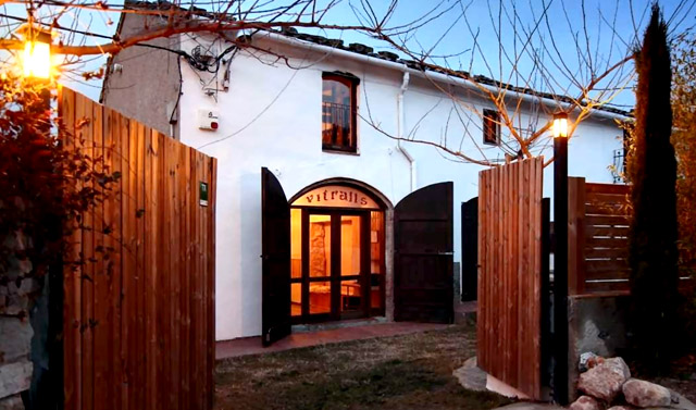 Casa Rural Cervecera Les Canyes; en Pontons, Barcelona.