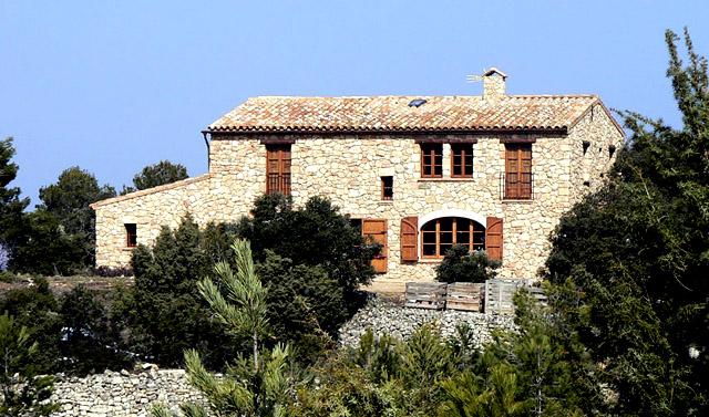 Mas de Salin; en Cornudella de Montsant, Tarragona.