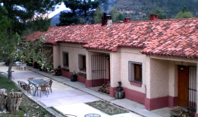 Casas del Salto, en Poveda de la Sierra, Guadalajara