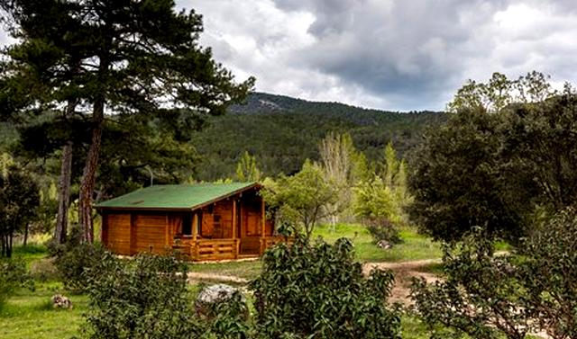 Cabañas El Llano de los Conejos, en Cañamares, Cuenca