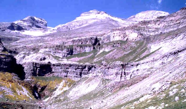 Macizo de Monte Perdido, Marobré y Añisclo. Las Tres Eroles