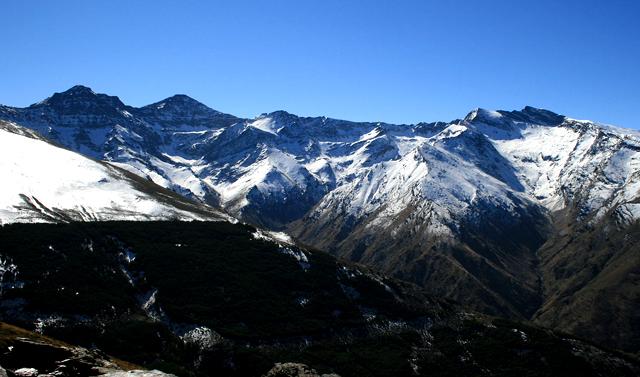 Mulhacen-Veleta-Alcazaba en Sierra Nevada