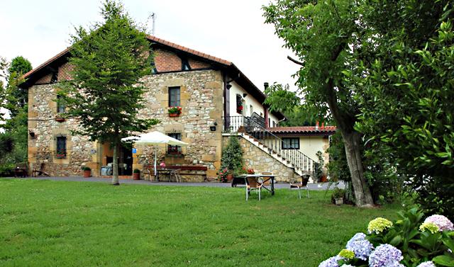 Casa Rural Jesuskoa en Zumaia, Euskadi