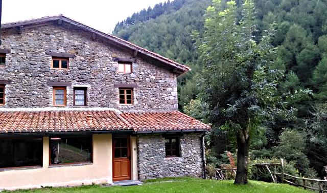 Casa Rural Goikola, en Lastur, Euskadi