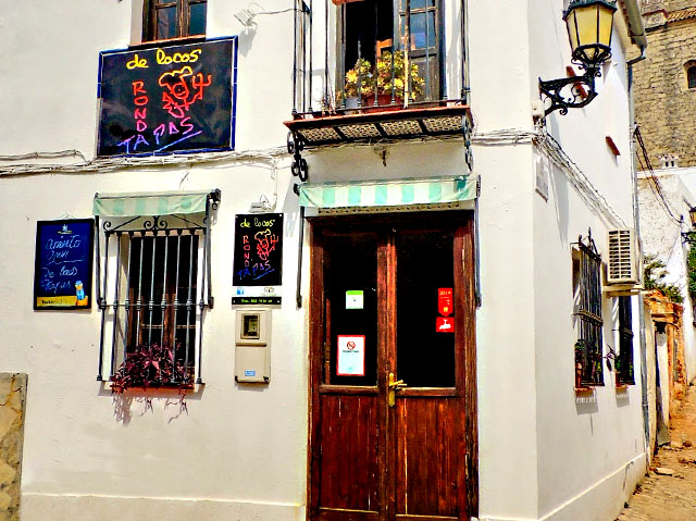 De Locos Tapas, en Ronda, Málaga.