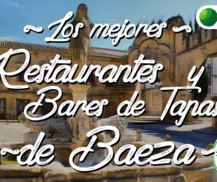 Los mejores restaurantes  y bares de tapas en Baeza - gastronomia-restaurantes