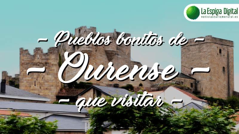 Pueblos bonitos de Ourense que visitar