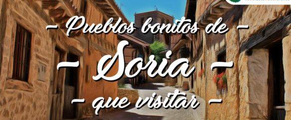Pueblos bonitos que visitar en Soria