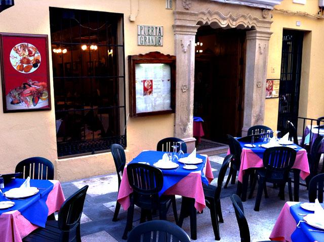 Puerta Grande, en Ronda, Málaga.