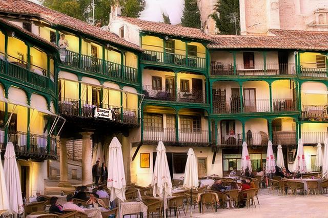 Restaurante La Balconada, en Chinchón, Madrid