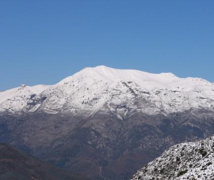 sierra nieves parque nacional