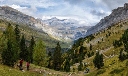 Más de 160.000 senderistas pasan por Aragón desde julio