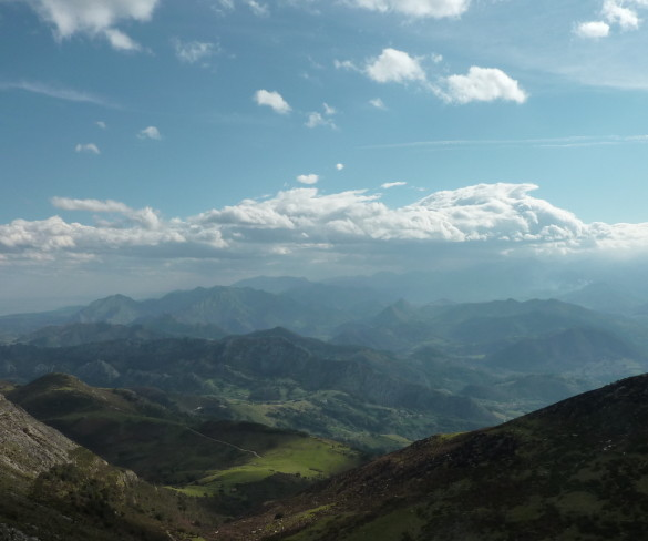 Ruta senderista por la Sierra del Sueve en Asturias