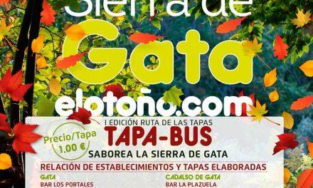 "Sierra de Gata organiza el primer ""Tapa-Bus"""