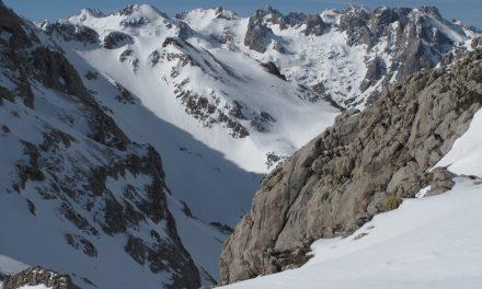 Finalistas de la II Ski Race Picos de Europa