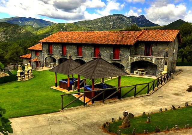Las 12 mejores casas rurales de arag n - Casa rural con jacuzzi aragon ...