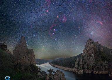 El cielo de Monfragüe encandila a la NASA