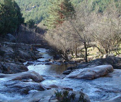El Río Manzanares a su paso por Pedriza del Manzanares