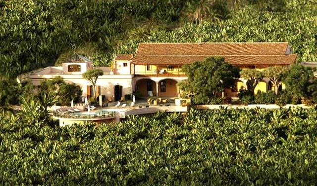 Hacienda del Buen Suceso, en Arucas, Canarias