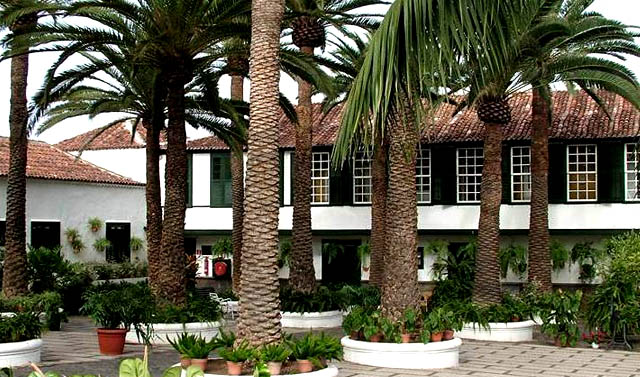 Hotel El Patio, en Garachico, Canarias