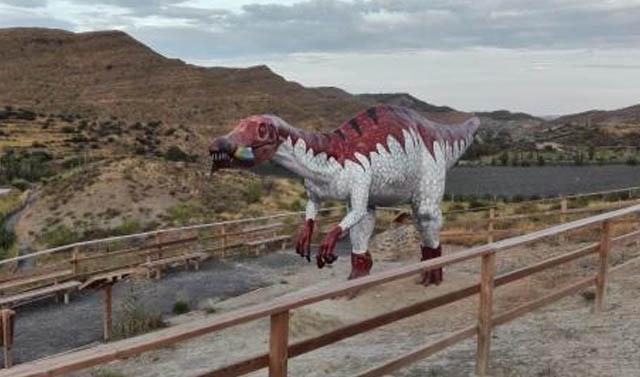 Centro de Interpretación Paleontológica de La Rioja, en Igea