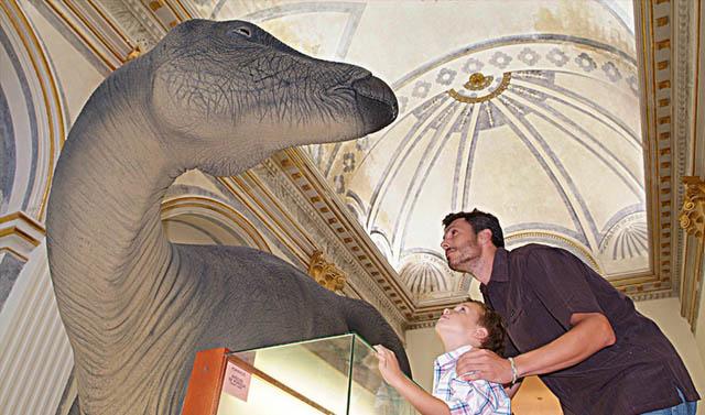 Museo Tiempo de Dinosaurios, en Morella, Castellón