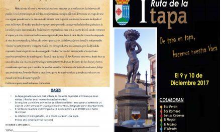 Este fin de semana se celebra la «I Ruta de la Tapa» en Agudo