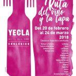Comienza la Ruta del Vino y de la Tapa en Yecla