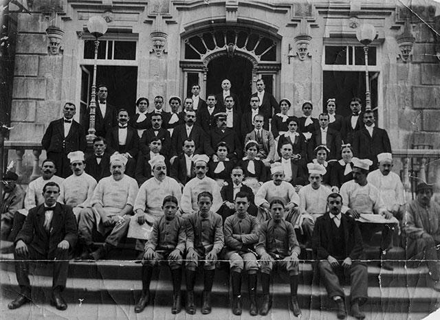 Personal GH balneario de Mondariz 1920
