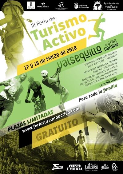 Abiertas las inscripciones para la III Feria de Turismo Activo en Valsequillo