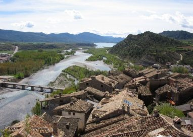 Aínsa-Sobrarbe celebra ser Capital del Turismo Rural de España de 2018