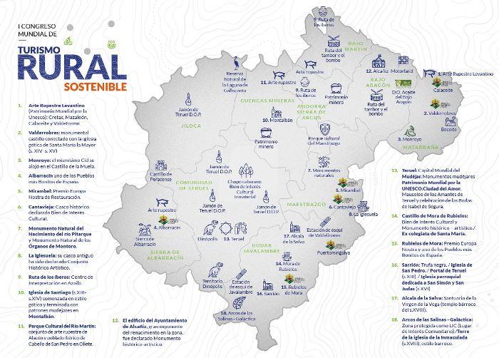 congreso turismo rural sostenible teruel
