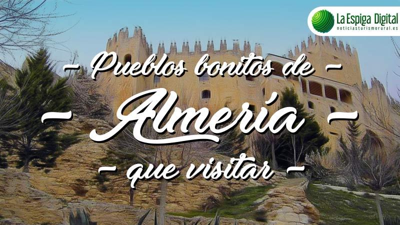 Pueblos bonitos de Almería que visitar