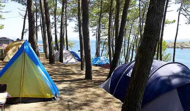 mejores campings galicia camping coroso