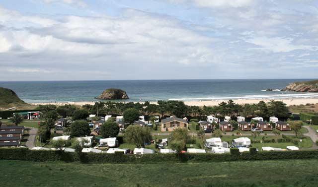 mejores campings asturias playa penarronda