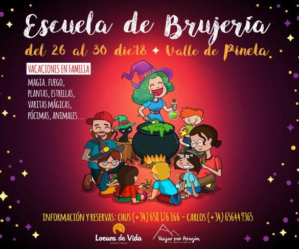 Talleres de la Escuela de Brujería, en el Valle de Pineta