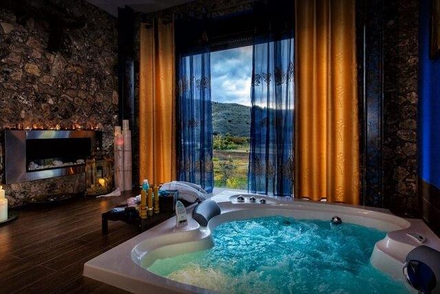 jacuzzi suite rural